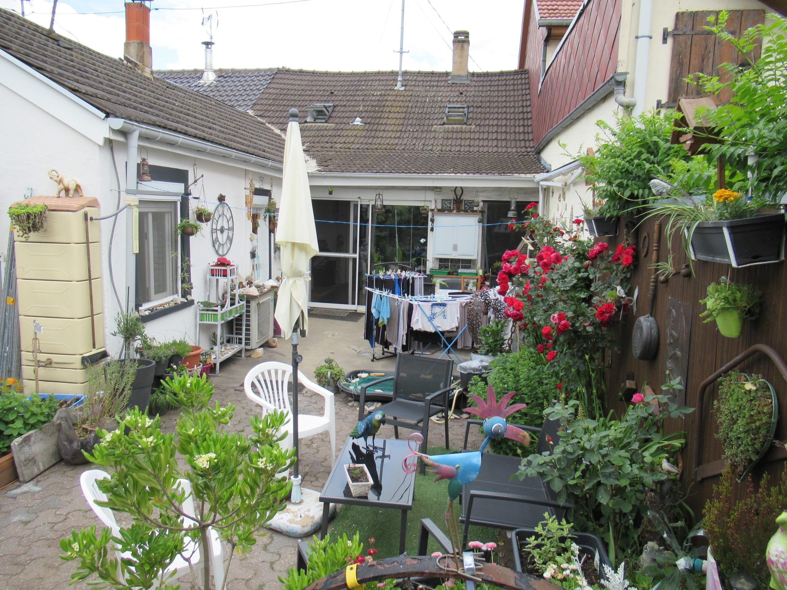 Bischwiller Maison 4 pièces 100 m2 et jardin