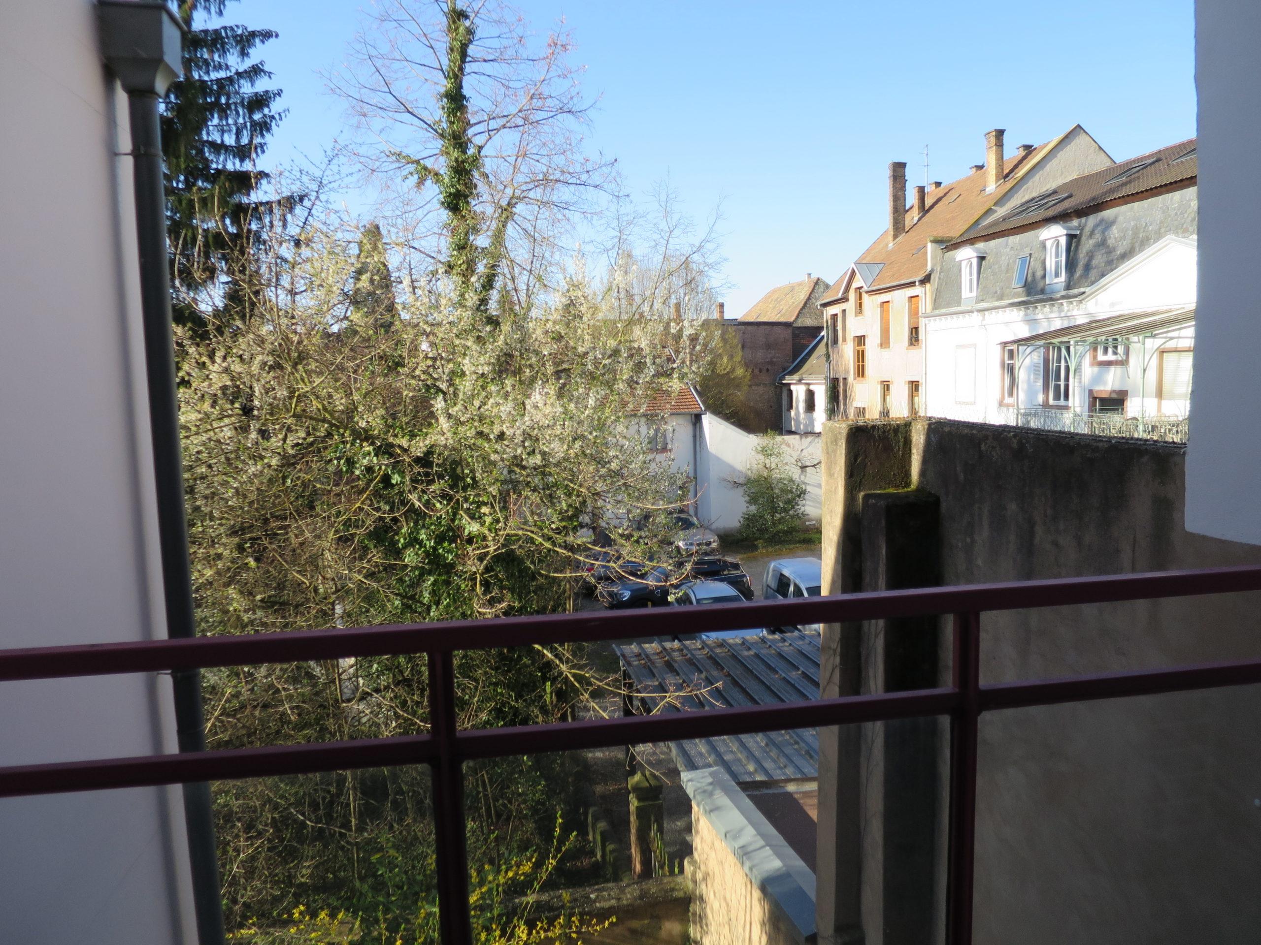 Haguenau, appartement 2 pièces 38 m2 avec balcon et garage