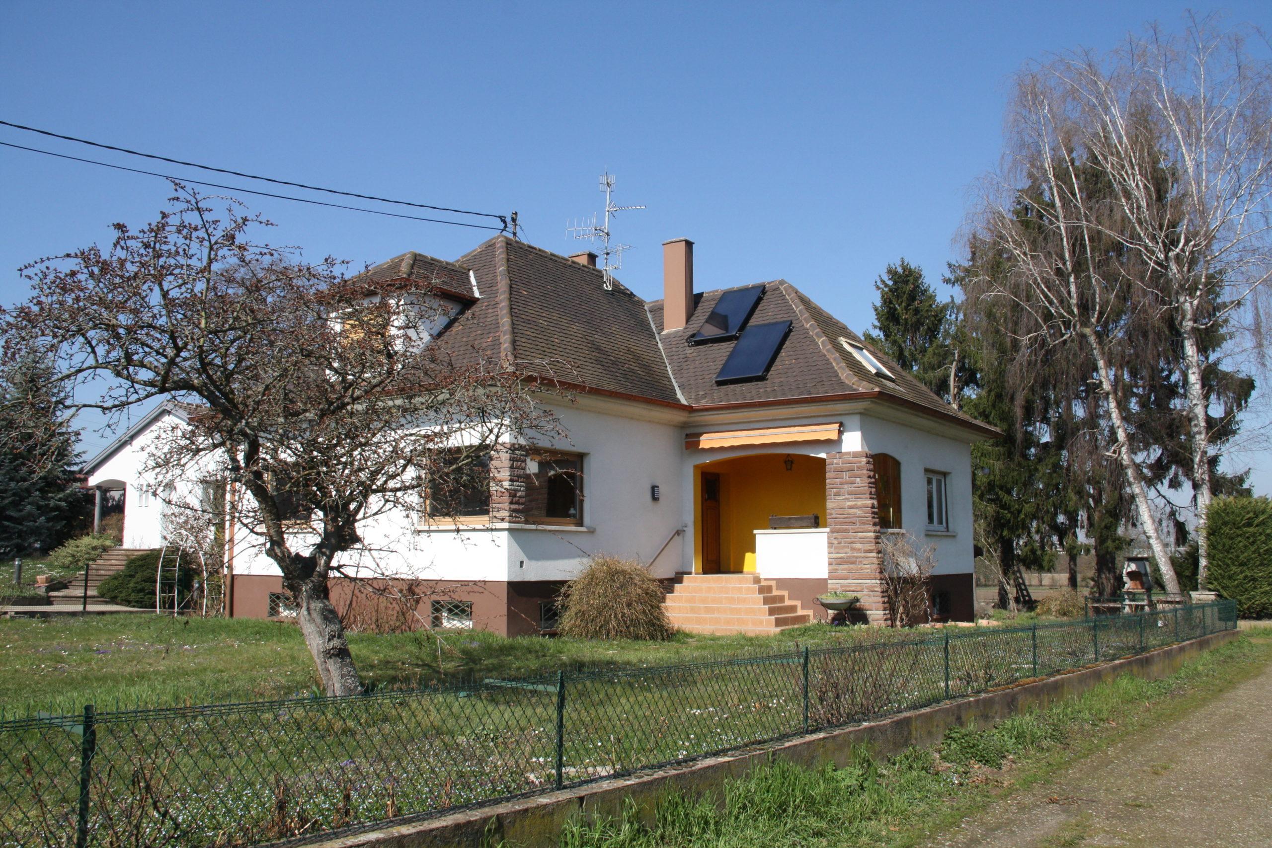 Souffelweyersheim- Maison sur terrain de 9,3 ares