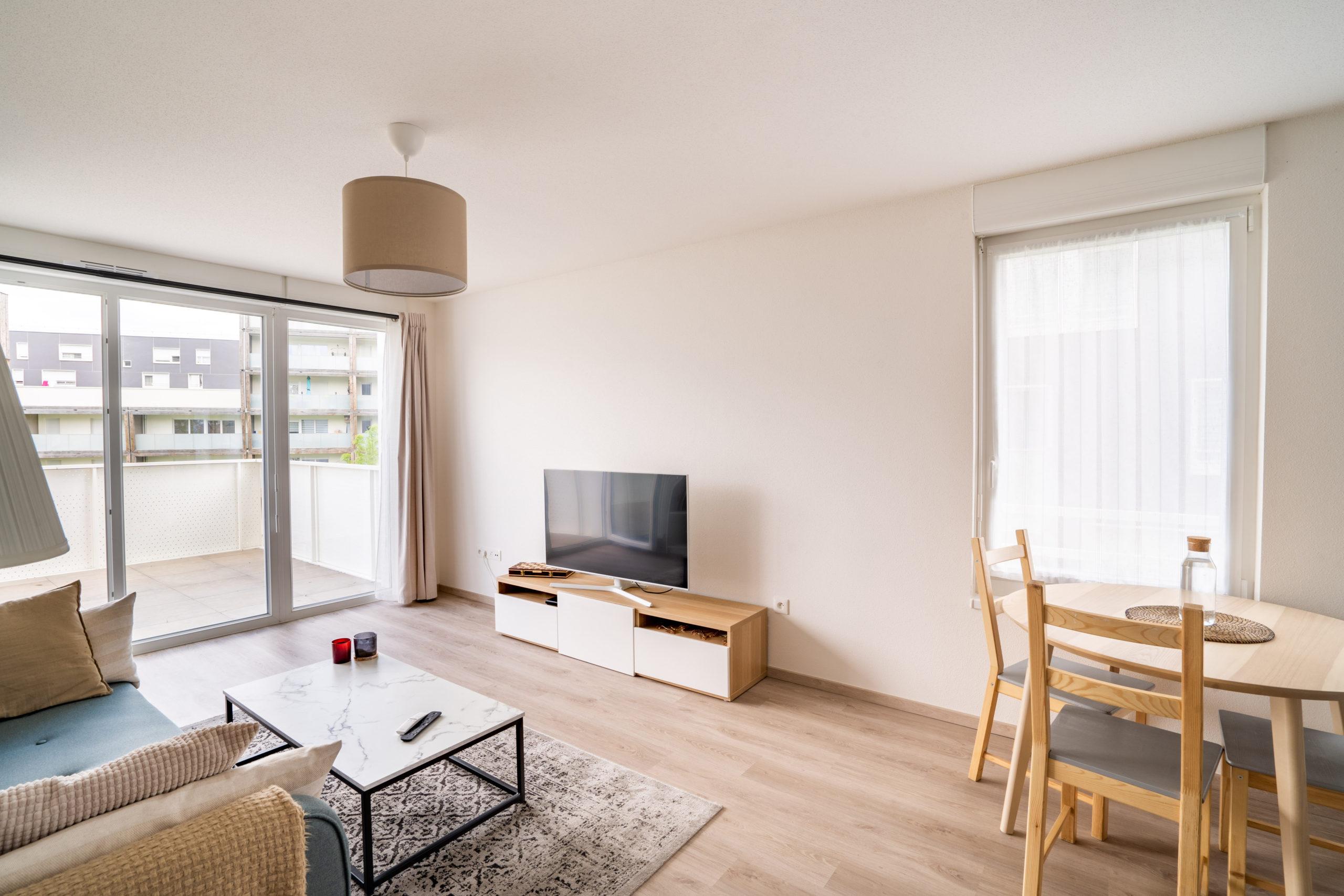 Strasbourg Appartement 3 pièces, terrasse et garage