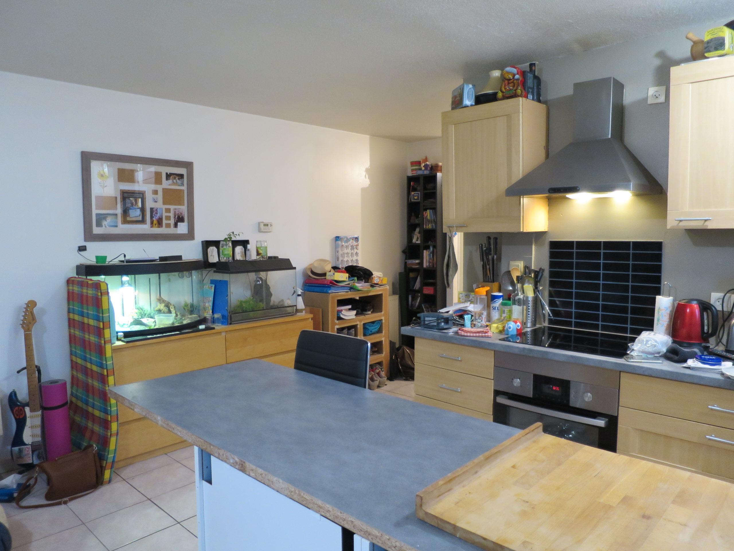 Eckbolsheim investissement locatif Appartement 3 pièces terrasse et garage