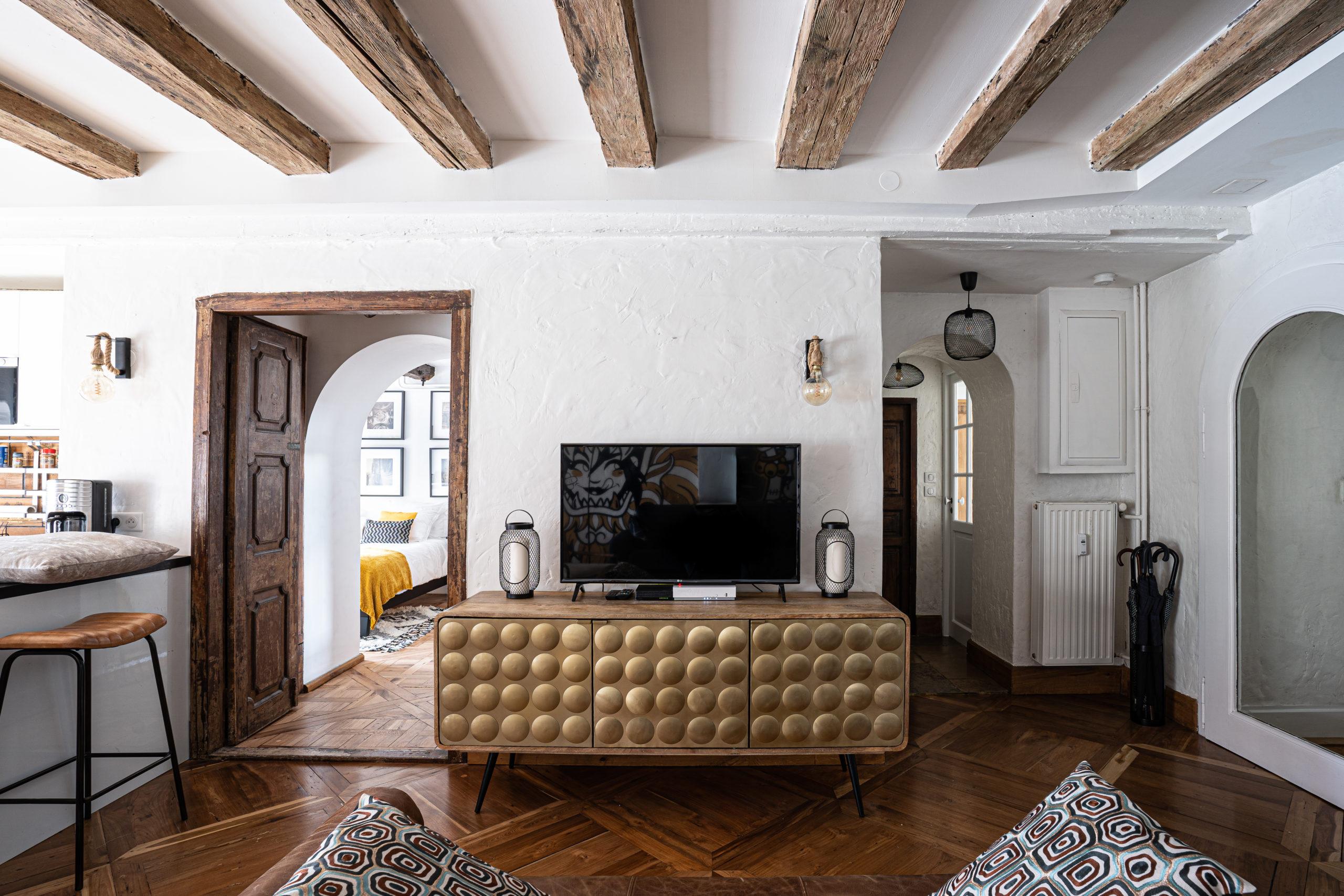 Strasbourg, petite France, appartement 3 pièces 78 m2 avec vue sur l'Ill